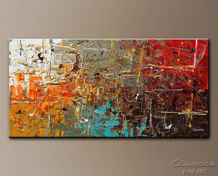 Modern Abstract Wall Art safe and sound - abstract art paintingcarmen guedez | abstract