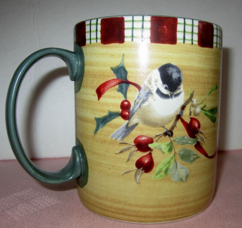 Lenox winter greetings everyday coffee mug bird chickadee catherine lenox winter greetings everyday coffee mug bird chickadee catherine mcclung lenox m4hsunfo