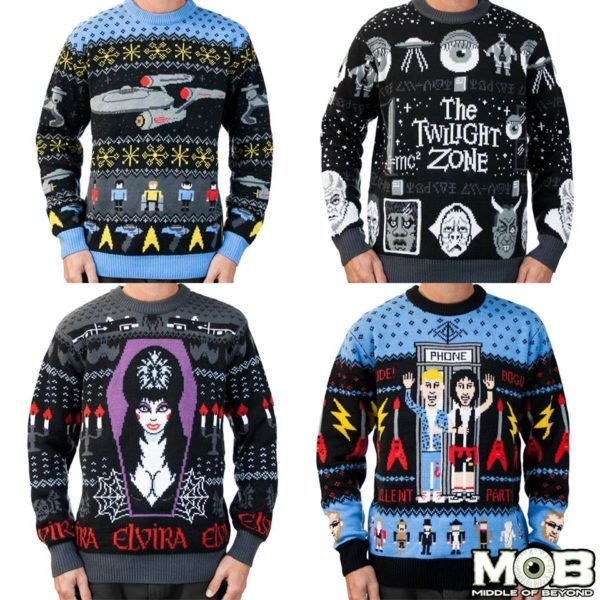 Nerdy Christmas Sweaters.Check Out These Cool Geek Culture Ugly Christmas Sweaters