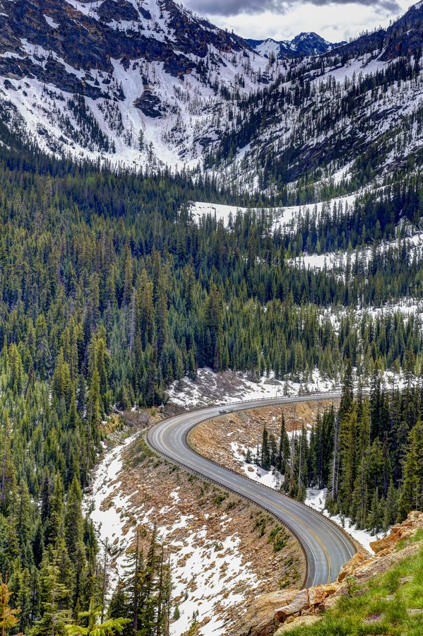 Road trip to North Cascades National Park. Photo by Will Rynearson. - A Must by Motorcycle...