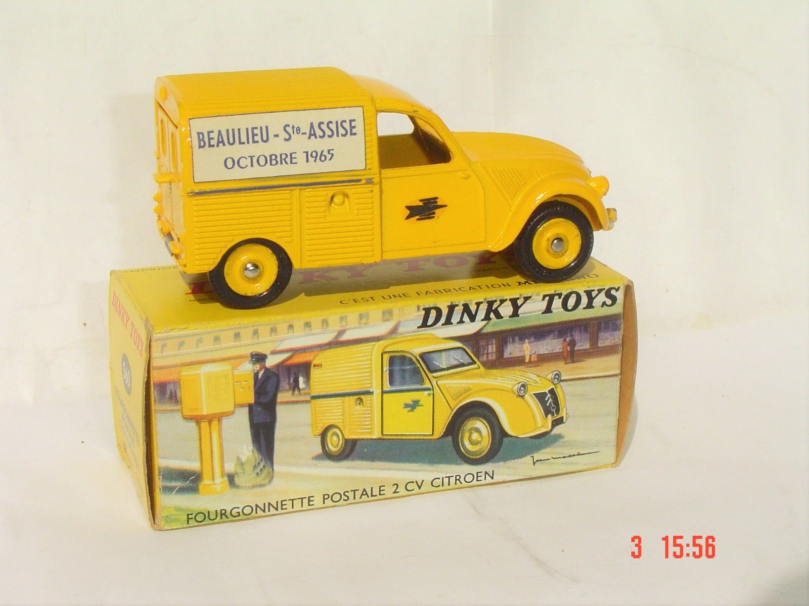 Dinky 2cv Ptt 1965 Code 3 Vendu 725 En Octobre 2016 Corgi Toys Toy Car Miniature Cars