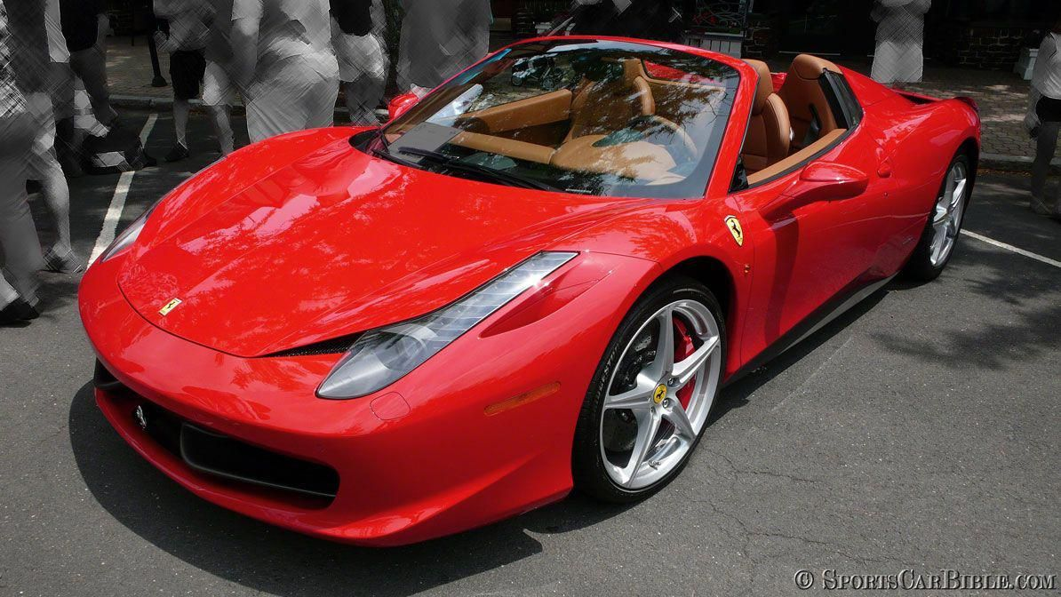 2011 Ferrari 458 Spider Simply Classic In Red With A Tan