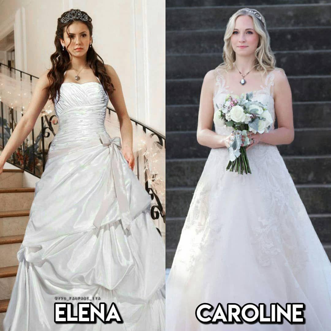 Elena Or Caroline Nina Candiceking Thevampirediaries Theoriginals Legacies Tvdforever Tv Prom Dresses Blue Caroline Dress Stefan And Caroline [ 1080 x 1080 Pixel ]