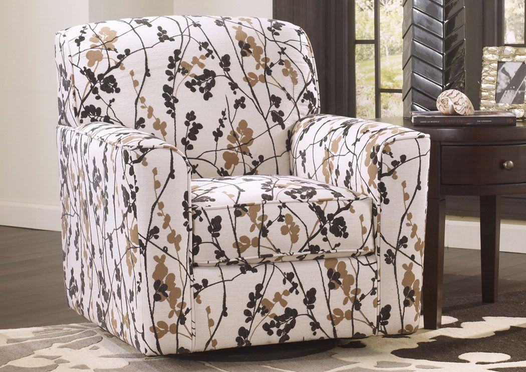 Cozi Furniture New Carrollton Md Mykla Shitake Swivel Accent