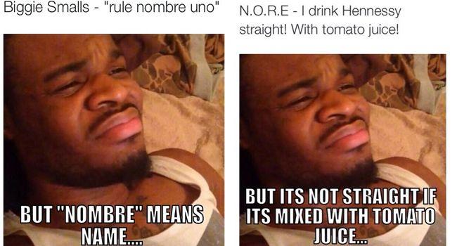 Emmanuel Hudson Correcting Rappers Rap Lyrics Rap Memes