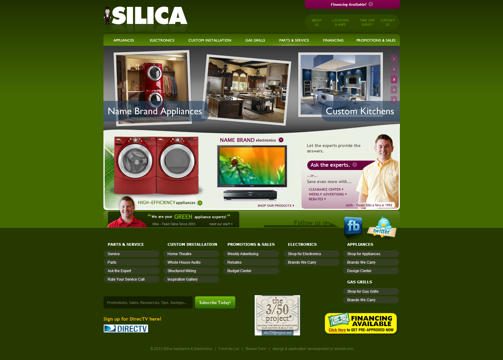 Silica Appliance Custom Kitchens Appliances Watertown