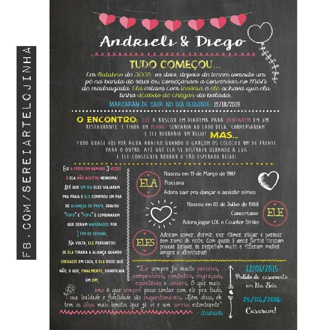 Essa E A Historia De Amor De Andrieli E Diego Vai Decorar A