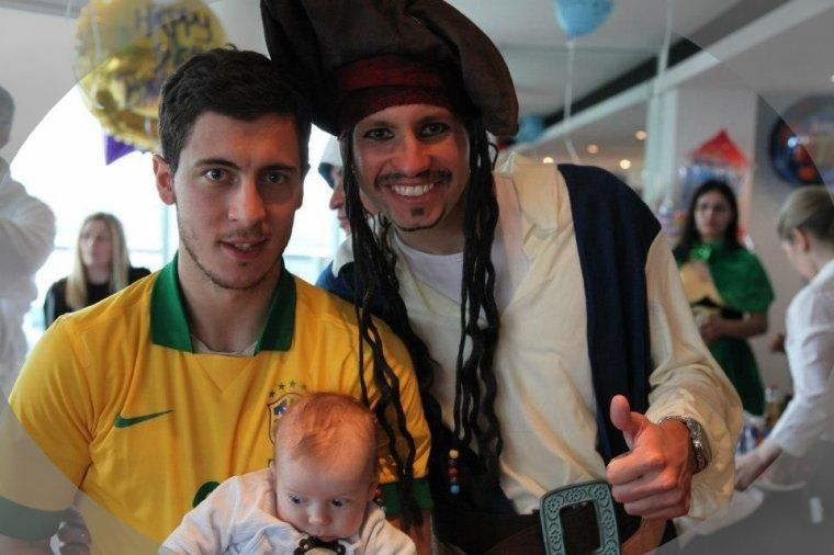 Eden Hazard Son Leo
