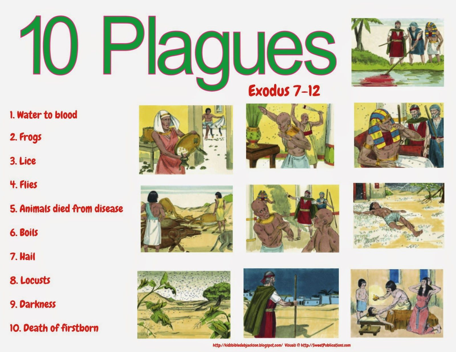 bible fun for kids moses burning bush u0026 10 plagues ઇઉ