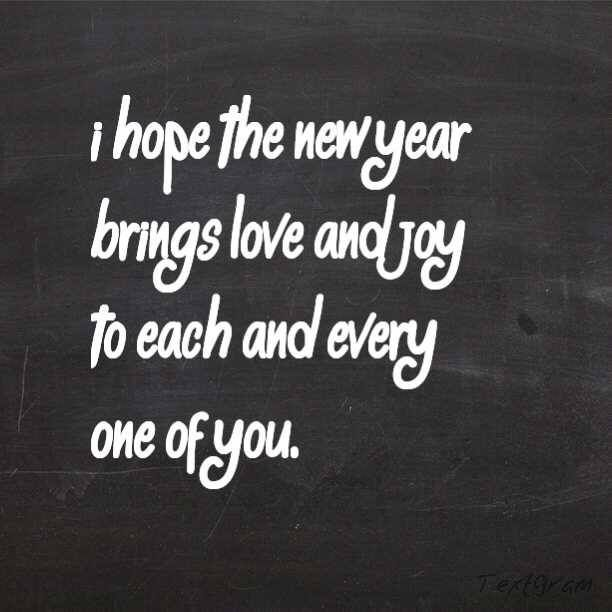 Hope The New Year Quotes About New Year Joy Quotes New Year Wishes