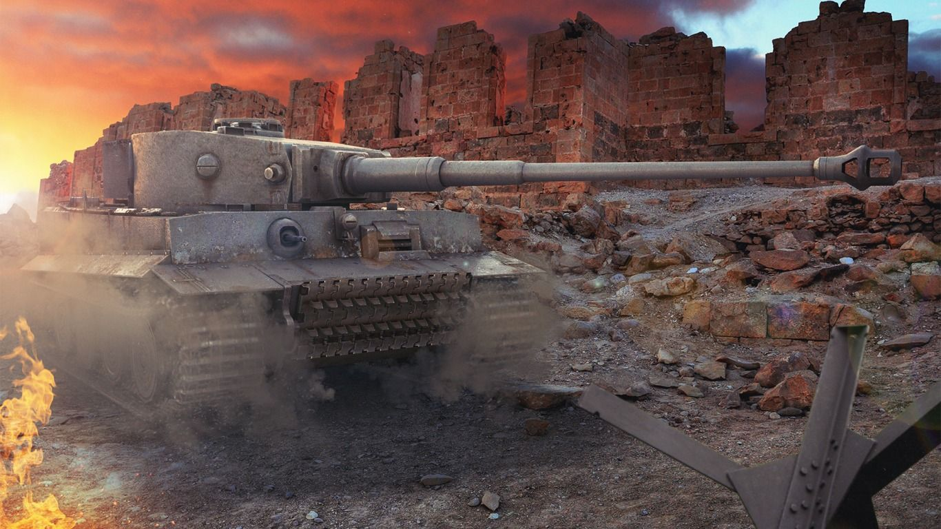 World Of Tanks Wallpapers HD Group 1920x1080 Tiger Tank 48