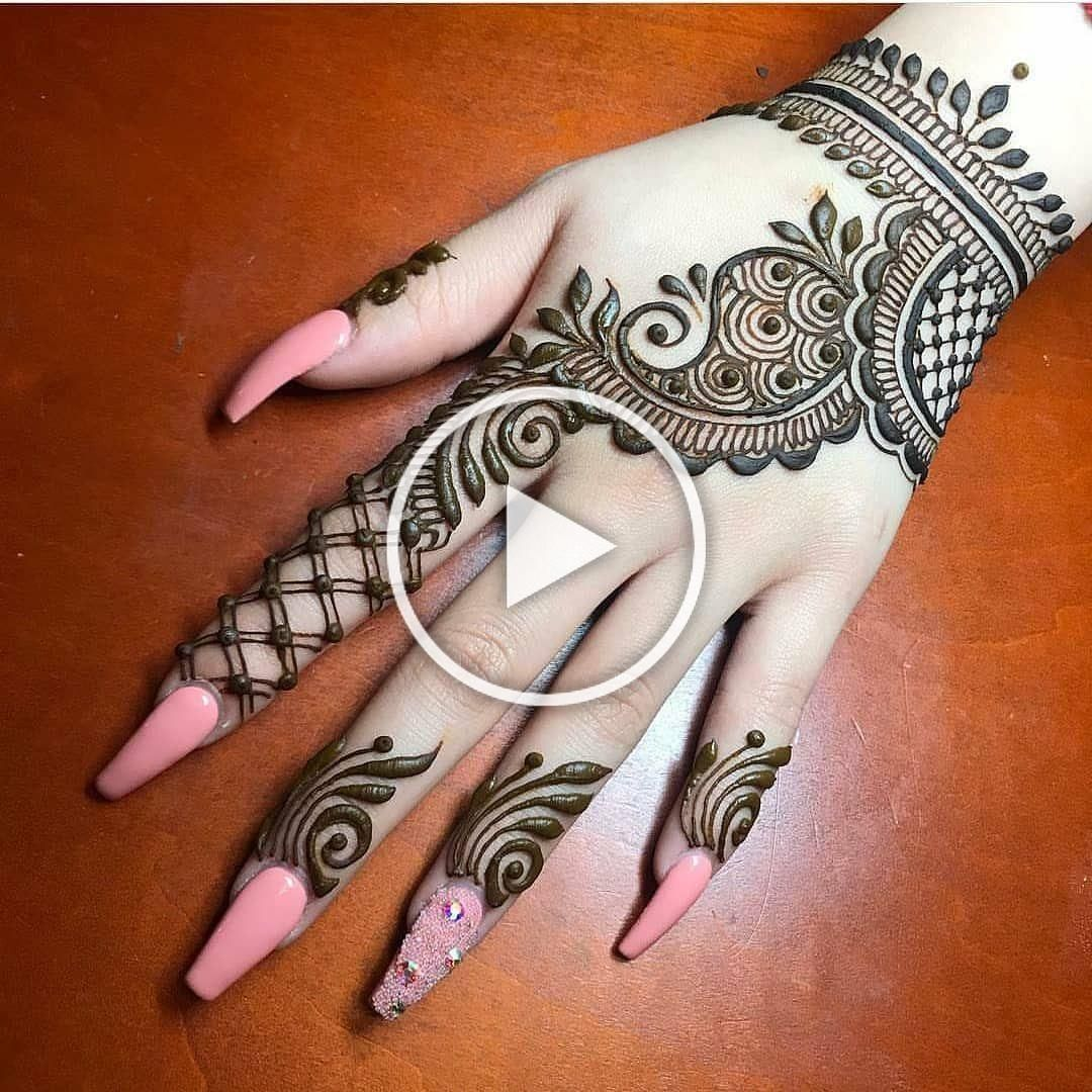 42 Trendy Henna Tattoo Design Ideas To Try Henna Tattoo Meaning Henna Tattoo Care Are In 2020 Mehndi Designs For Beginners Henna Designs Hand Back Hand Mehndi Designs