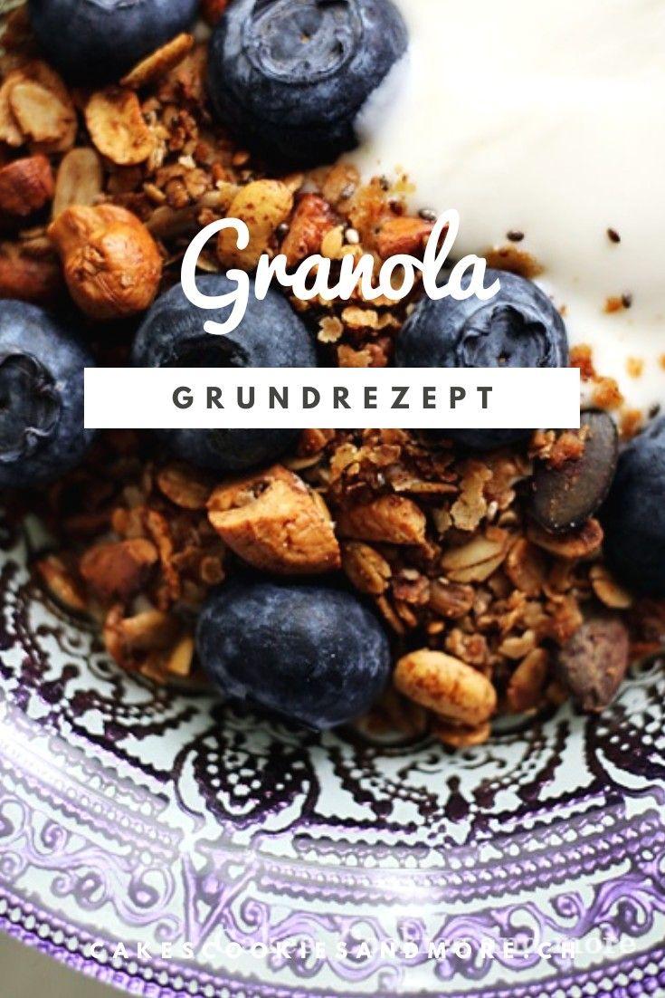Grundrezept für Granola - Cakes, Cookies and more
