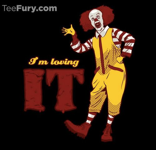 Teefury S Halloween Collection Scary Movies Pennywise The Clown Pennywise