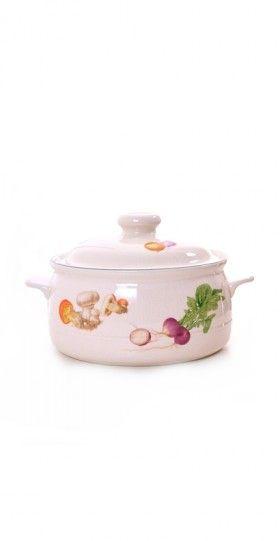 Decorative Retro Casserole Dish | Damsel Vintage