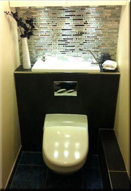 WiCi Bati : Pack WC suspendu avec lave-mains intégré | Salle de bain ...