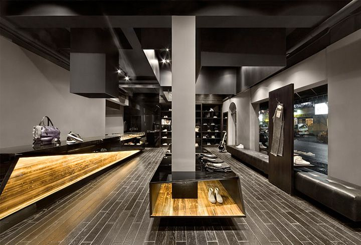 Best 25 shoe store design ideas on pinterest shoe - Men s clothing store interior design ideas ...