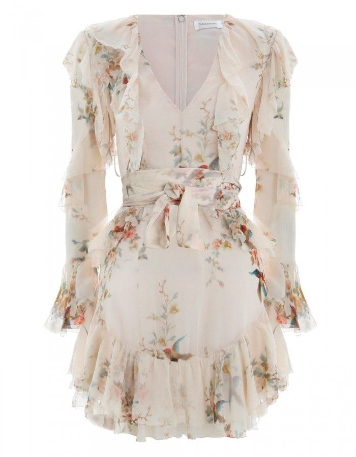 2b65f6572755 Zimmermann Folly Flutter Dress. Product Image.