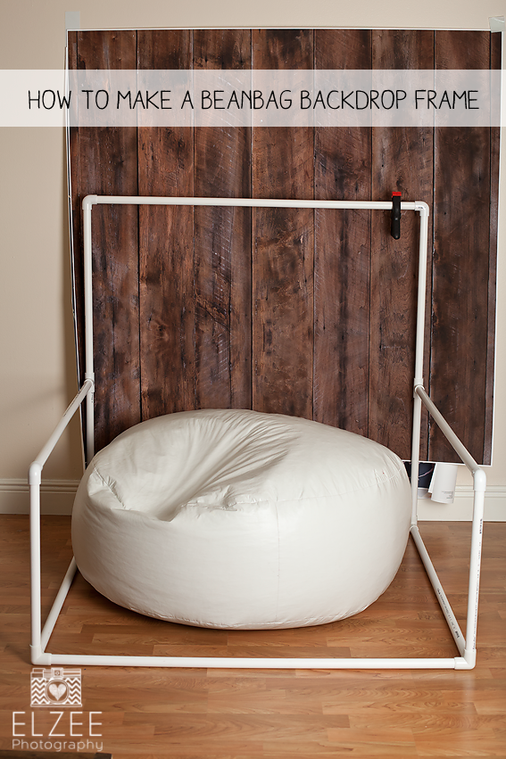 Newborn Photography Posing Bean Bag Frame
