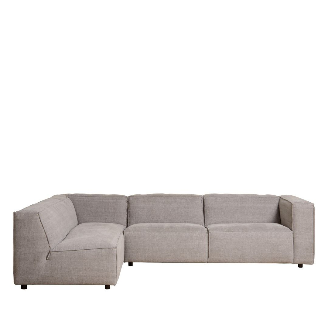EN: Combine the authentic elements of the LANDSCAPE collection with clean lines and modern elements, like this sofa! // NL: Combineer de authentieke elementen van de LANDSCAPE collectie met strakke lijnen en moderne elementen, zoals deze zetel!