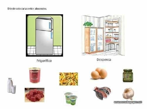 Alimentos Perecederos Alimentos Alimentacion Recursos Educativos