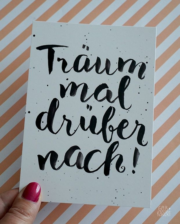 Handlettering - My pictures at artboxOne- Handlettering – Meine Bilder bei artboxOne My handletterings at artboxONE