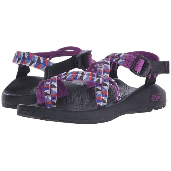 68f8aff6a395 Chaco ZX 2 Classic (Camper Purple) Women s Sandals ( 105) ❤ liked on  Polyvore featuring shoes
