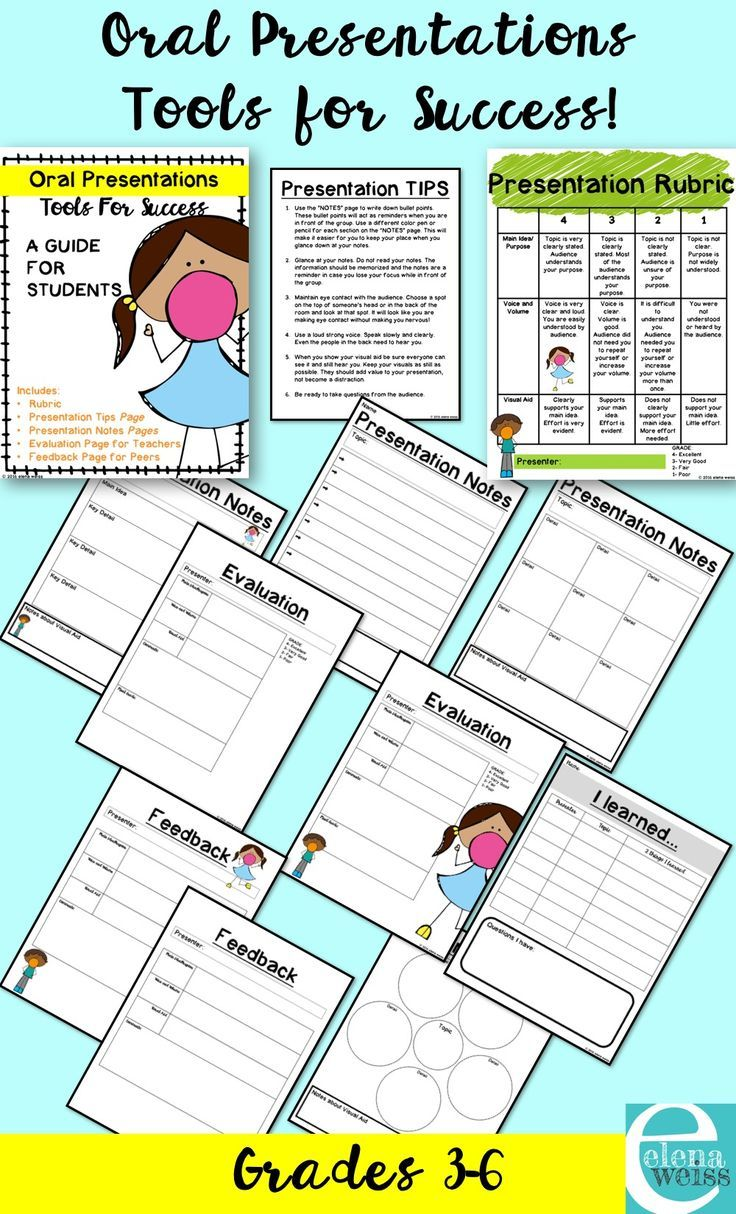 Oral Presentation Rubric And Other Tools For Success  Graphic