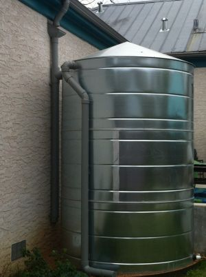 Rainwater Tank With First Flush Diverter With Images Rainwater Harvesting System Rainwater Harvesting Rainwater