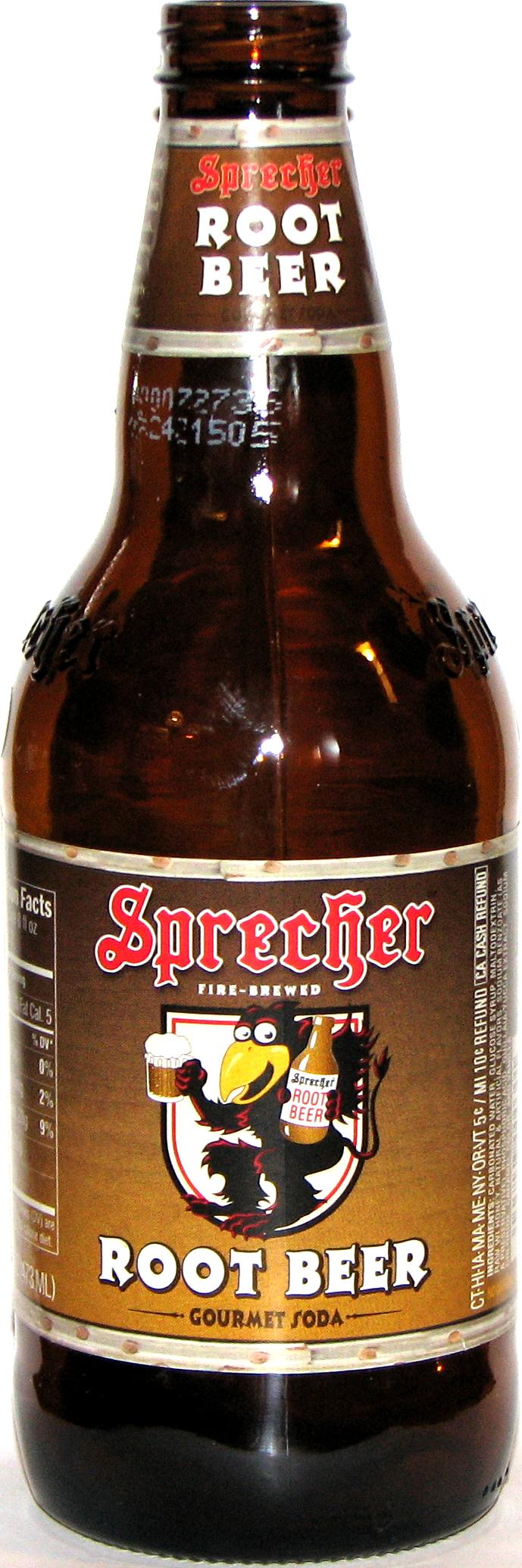 Sprecher Root Beer. Sprecher Brewing Co., Inc., Glendale