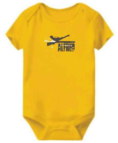 Alfred - Dont Mess With Me Baby Bodysuit