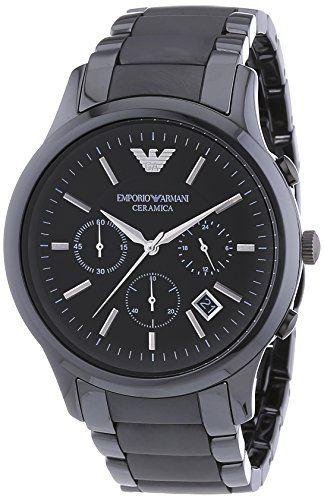 Emporio Armani Herren Armbanduhr Xl Chronograph Quarz Keramik Ar1452 Amazon De Uhren Uhren Herren Armani Uhren Uhrenmarken