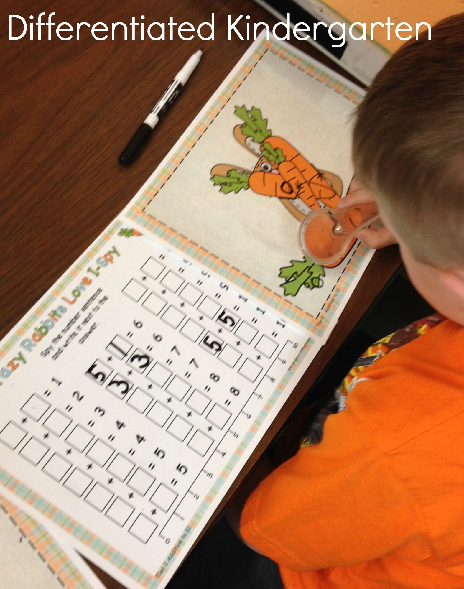 Crazy Rabbits Love I Spy Addition And Subtraction