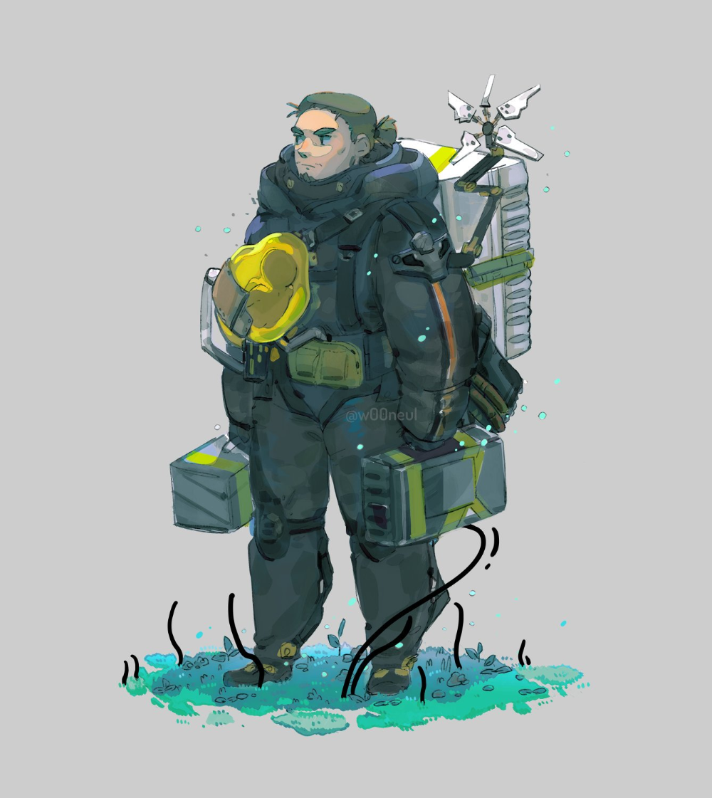 𝚠𝟶𝟶𝚗𝚎𝚞𝚕🌸🍲🌊 on Death stranding ps4, Character design