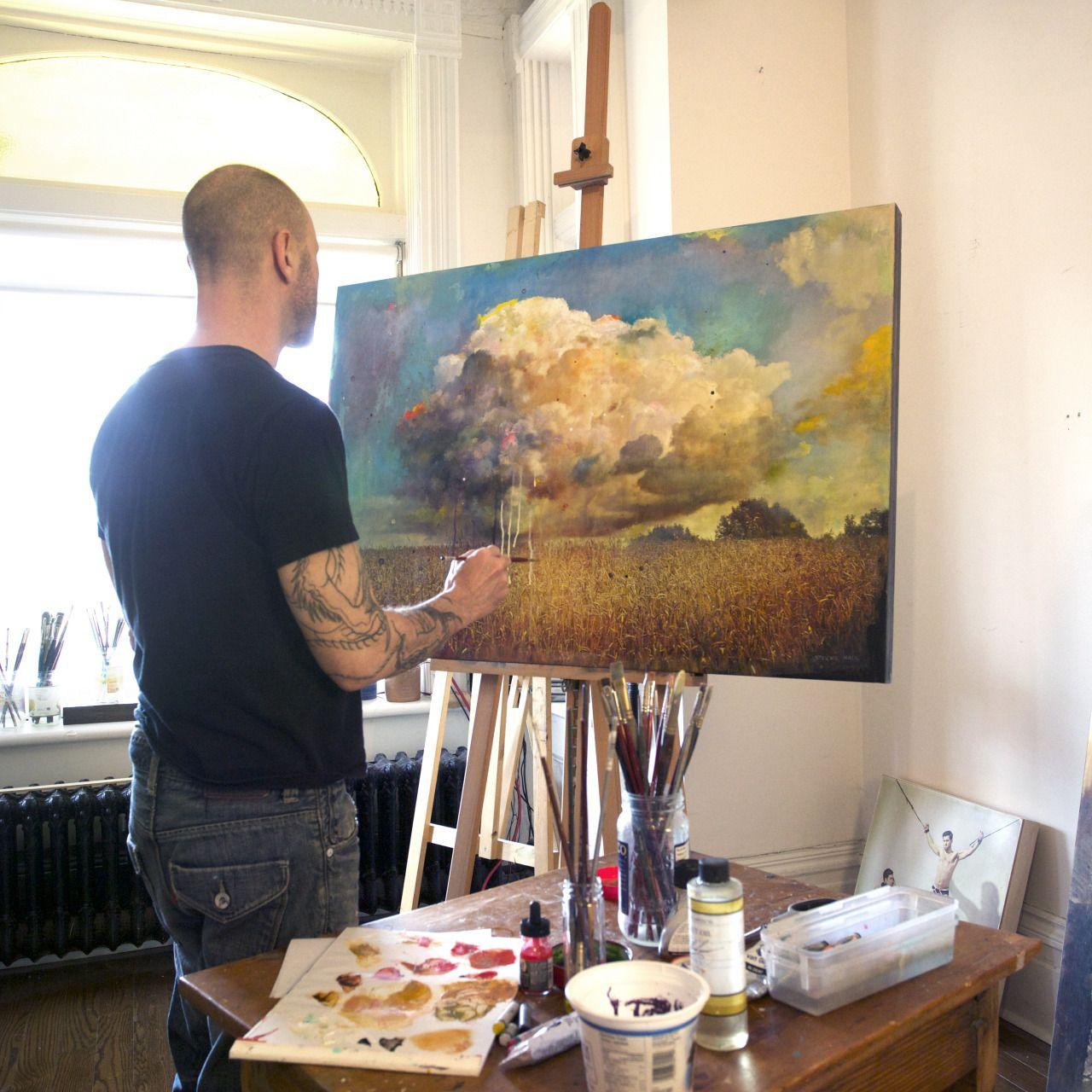 Contemporary Toronto Mixed Media Artist STEV\'NN HALL TUMBLR - Art ...