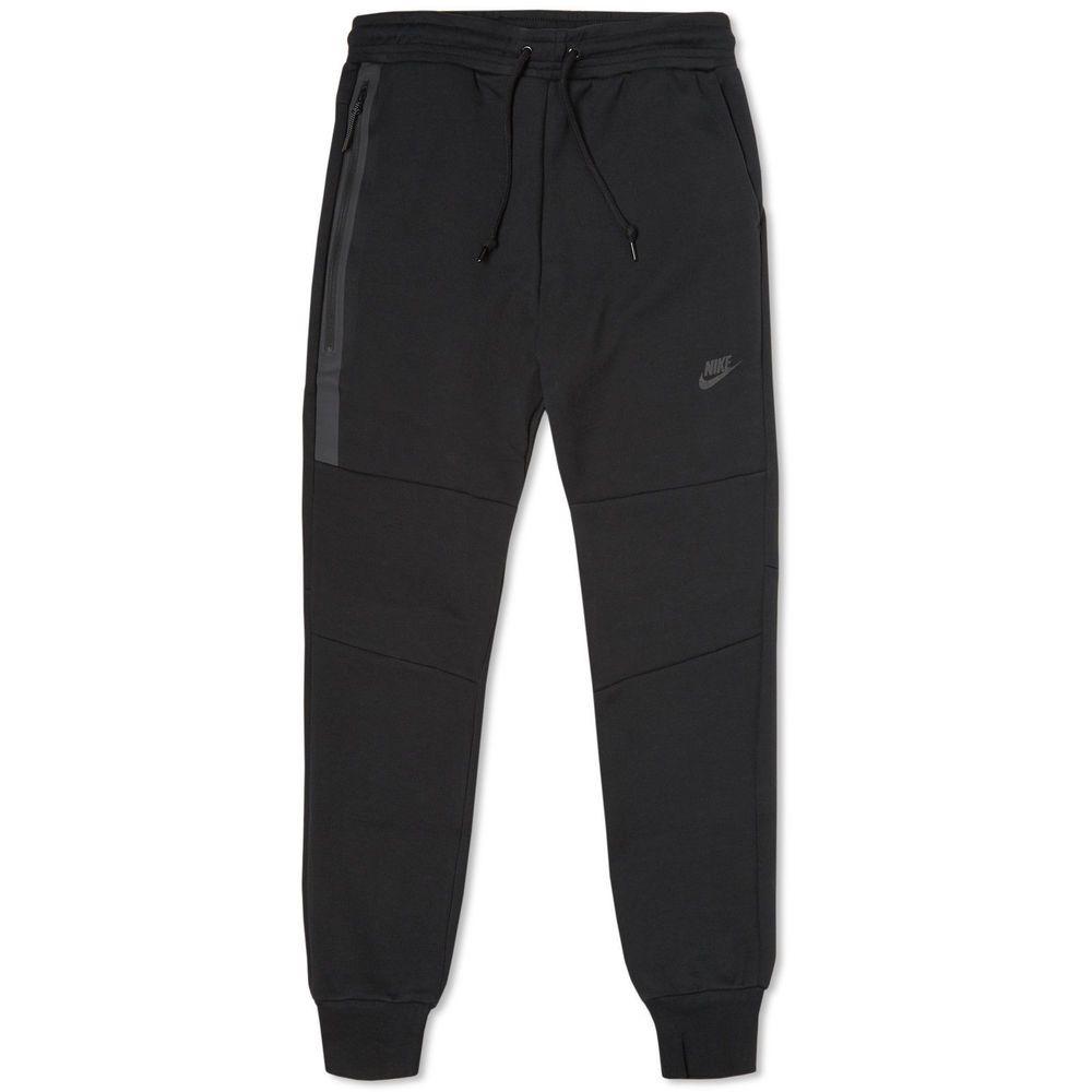 Nwt nike tech fleece jogger black tapered 3m sweatpants
