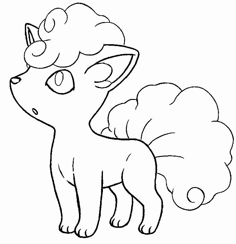 Alolan Vulpix Coloring Page Luxury Beautiful Coloring Pages Pokemon Necrozma Drawings Pokemon Unicorn Coloring Pages Ninjago Coloring Pages Coloring Pages