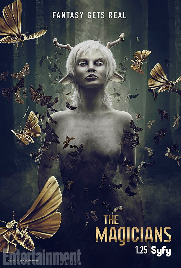 The Magicians Meet The White Lady In Exclusive Season 2 Poster Featurette The Magicians Syfy The Magicians Free Movies Online