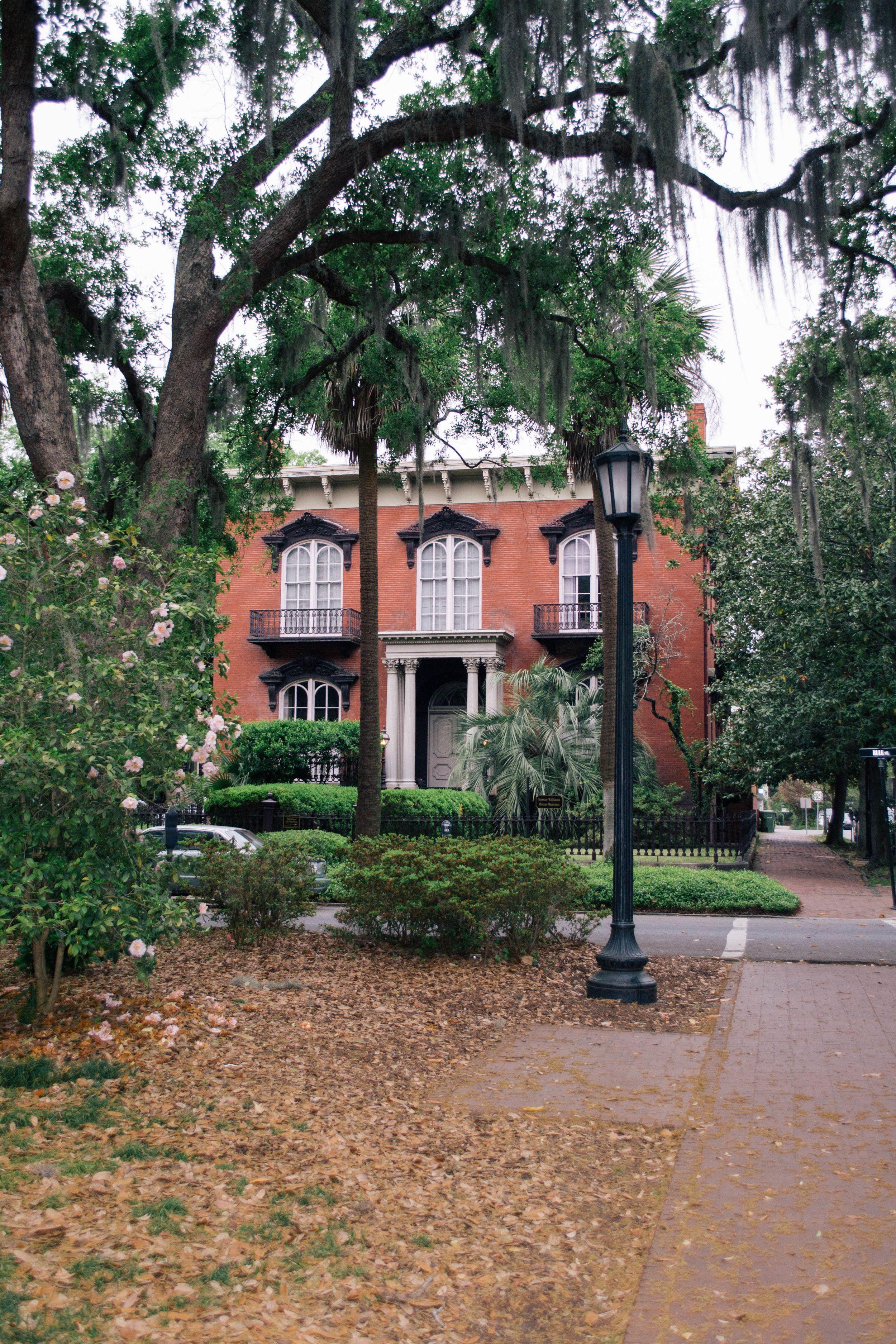 The Mercer House In Savannah Georgia Savannah Savannah Chat
