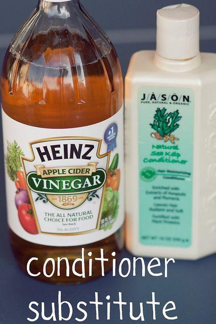 No Shampoo (Ashley Cadaret) : baking soda, apple cider