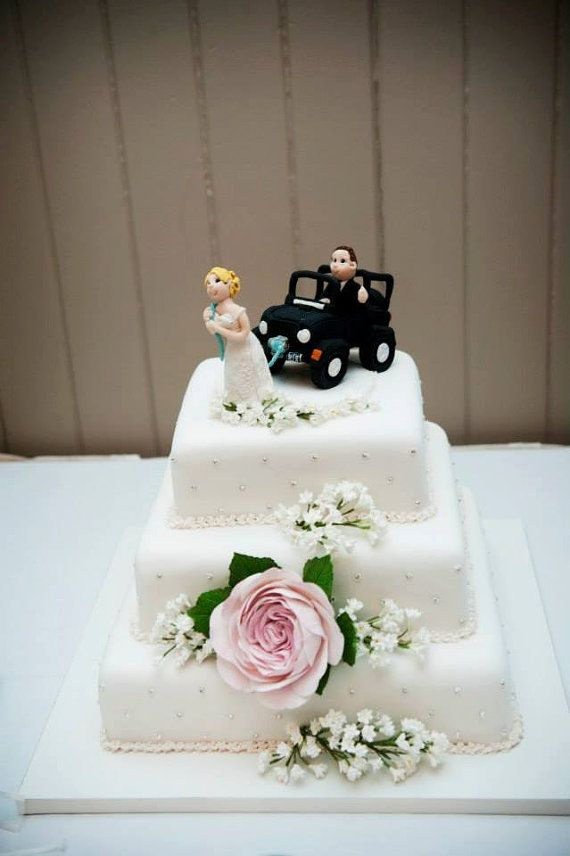 Jeep Wedding Cake Topper By Lynnslittlecreations On Etsy 3000