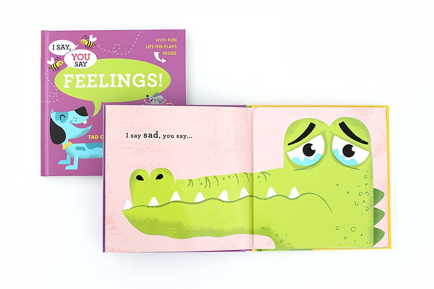 New I Say, You Say Feelings a children's books by Tad Carpenter
