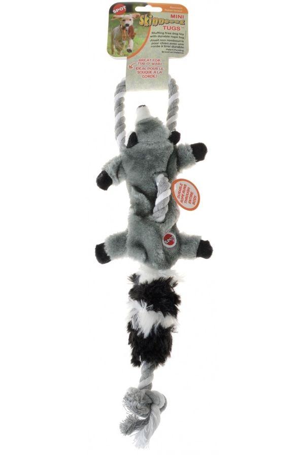 Save 10 Today On Skinneeez Mini Tugs Raccoon Dog Toy W