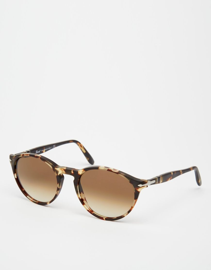 4e643aa03be652 Persol - Lunettes de soleil rondes   Fashion I ♡    Outfits, Jewels ...