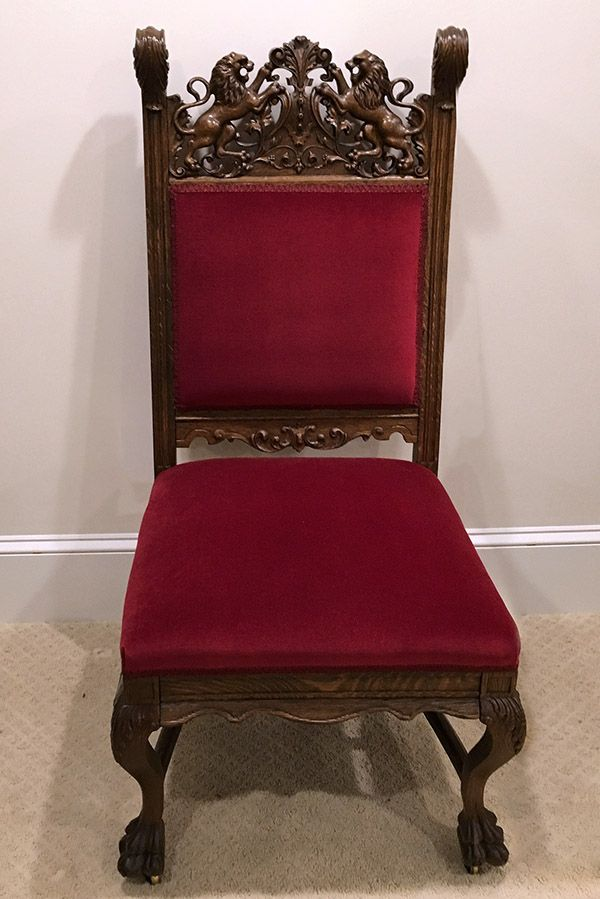 C1890 Beaux Arts 10 Dining Chairs Rj Horner Nyc Oak
