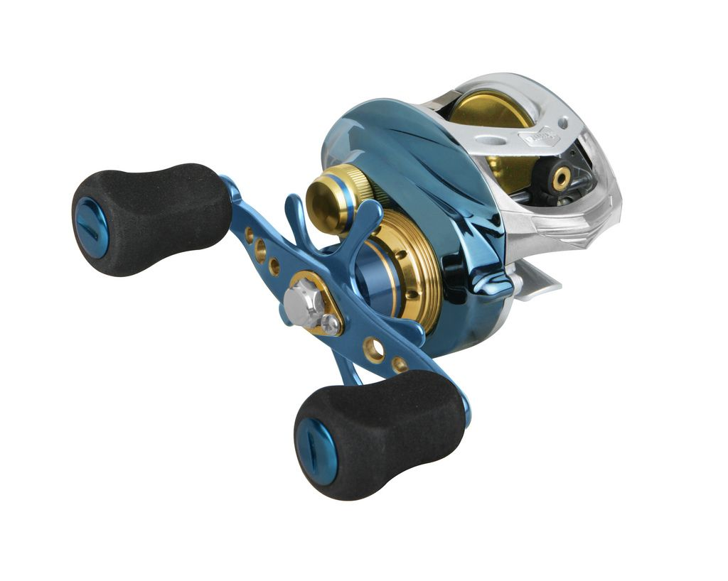 Okuma Fishing - Cedros Saltwater: This unique new design can be found on Okuma's low profile baitcast reels. The Spool Access Port allows for quick access to the spool by simply sliding the lock/unlock lever on the side plate opposite the handle. This system allows for quick spool changes, but more importantly it allows quick access for adjusting the Velocity Control System.
