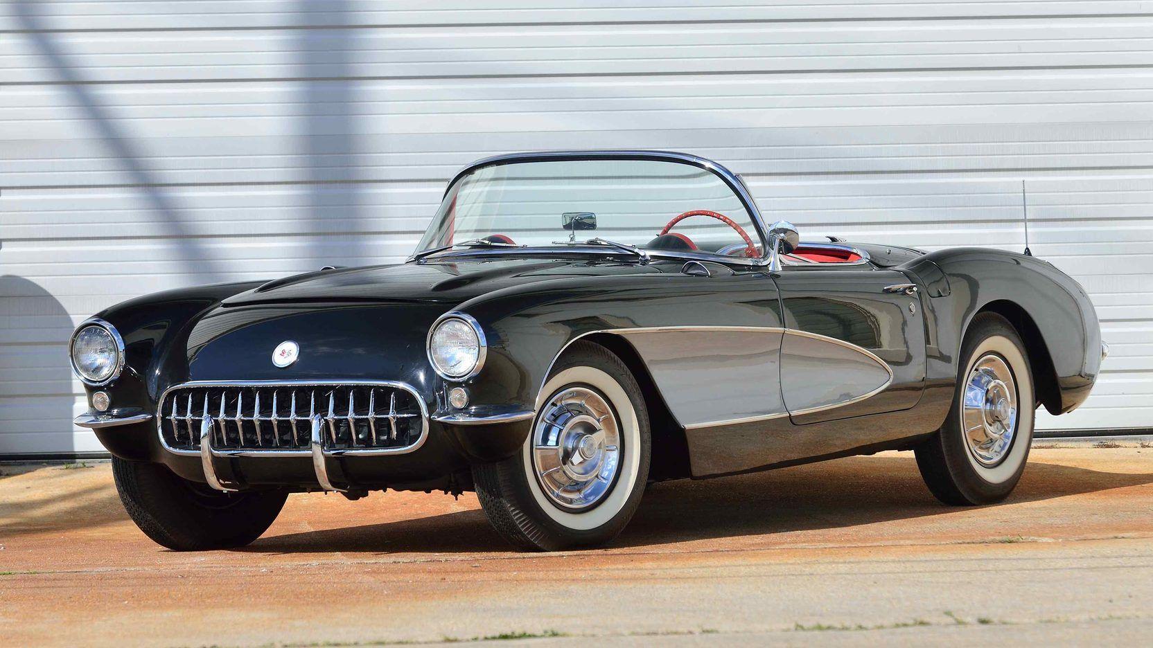 1956 Chevrolet Corvette Convertible presented as Lot T140