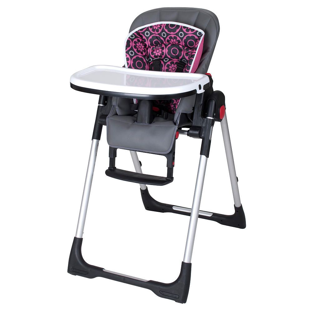 Baby Trend High Chair Recline Sure Fit Covers T Cushion The Deluxe Feeding Center In Cerise Is A Welcome Addition To Any Home Featuring 6 Height Positions 3 Reclining And One Hand Tray