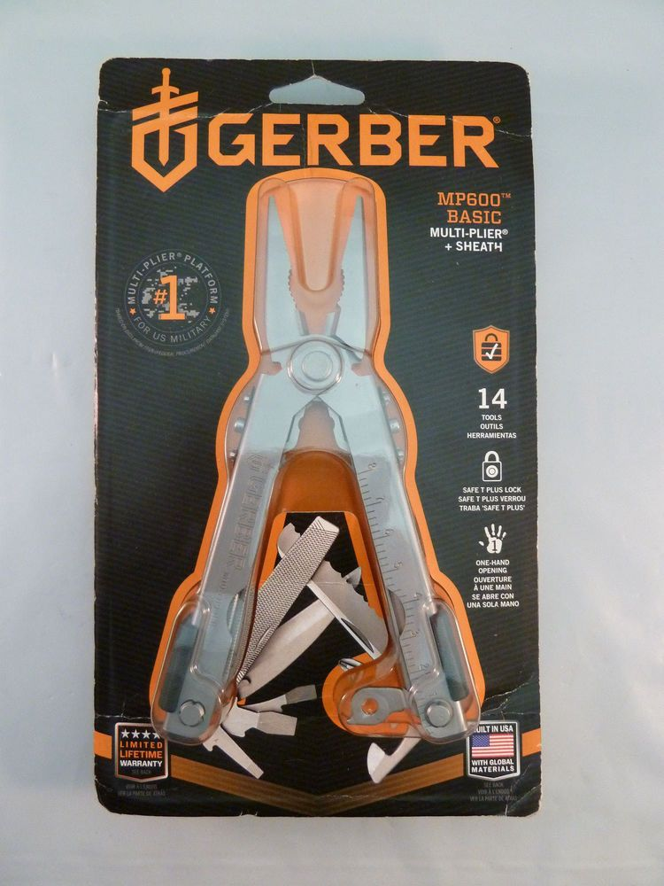Gerber Mp600 14 In 1 Multi Tool W Sheath Sealed New In