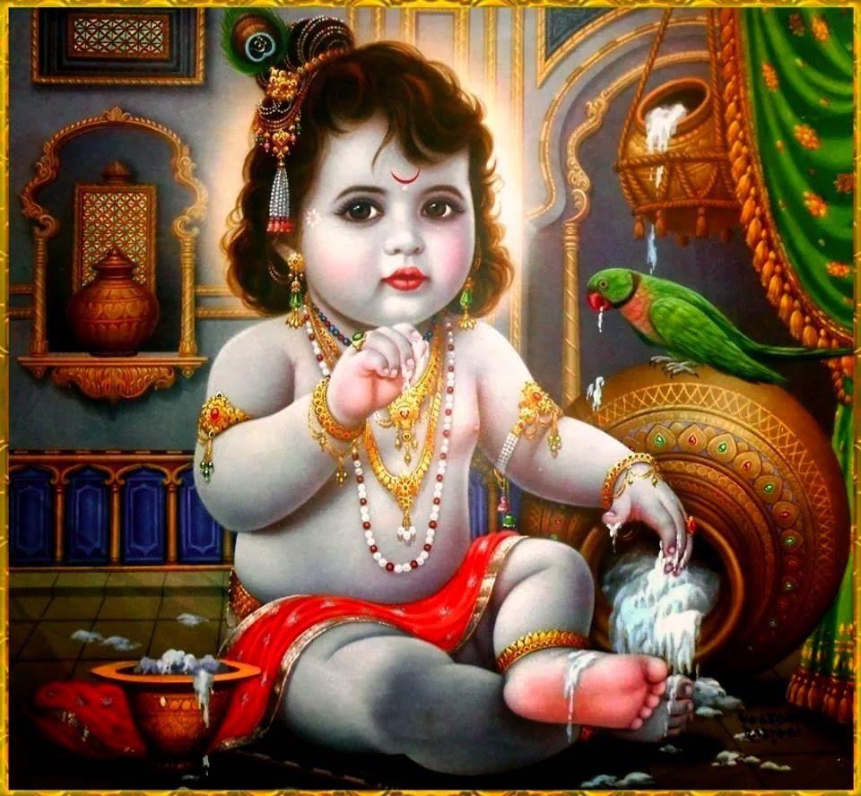 Beautiful Pictures Of Baby Krishna Baby Krishna Krishna Art Lord Krishna Images